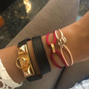 Authentic Cartier Mini Love and Trinity Bracelet